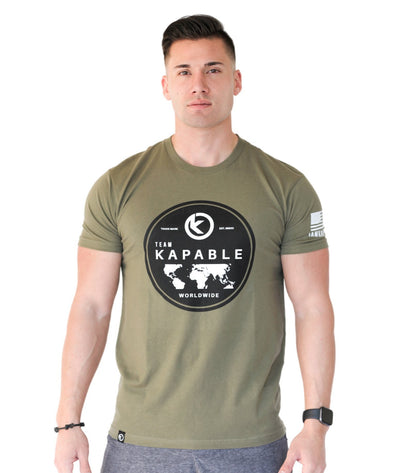 Team Kapable Worldwide - Military Green
