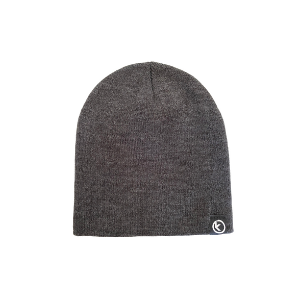 Classic Knit Beanie - Charcoal