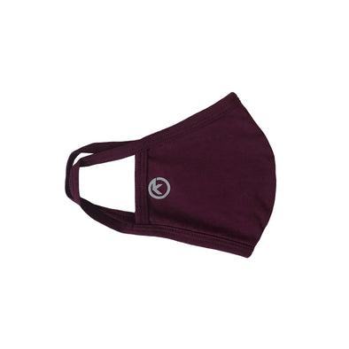 Kapable Soft Cotton Face Mask - Maroon
