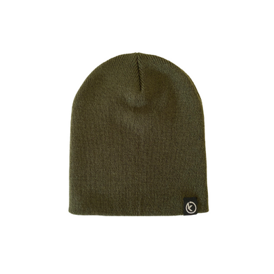 Classic Knit Beanie - Olive