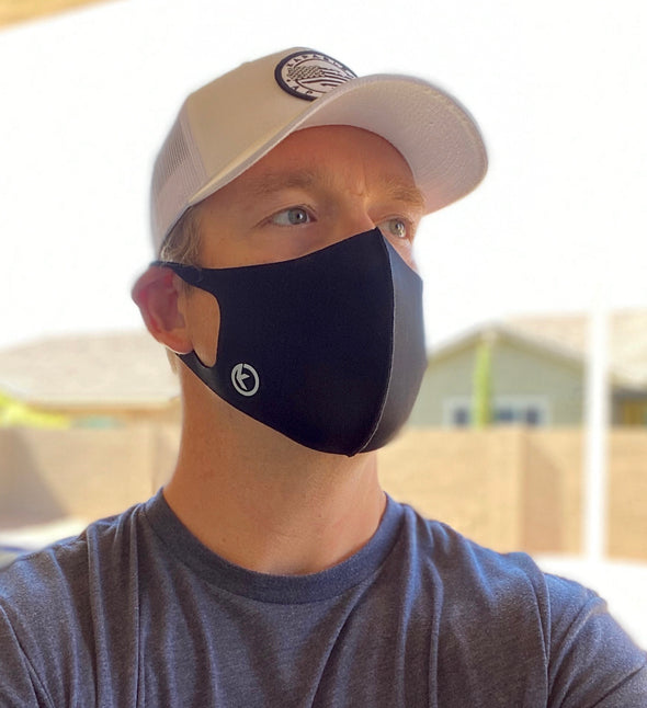 "Kapable Tech Face Mask ""Heather Gray"""