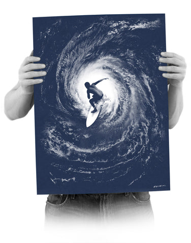 'Category 5' Screenprint Poster