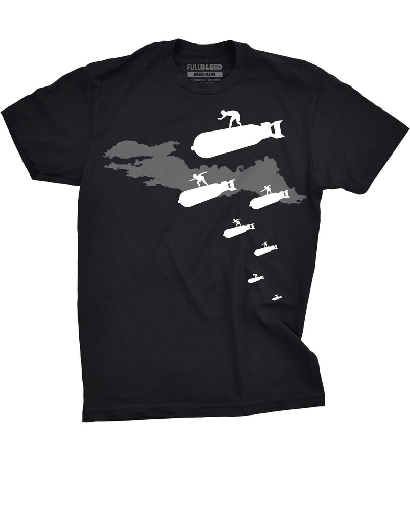 'Surf's Up Dudes' T-Shirt black