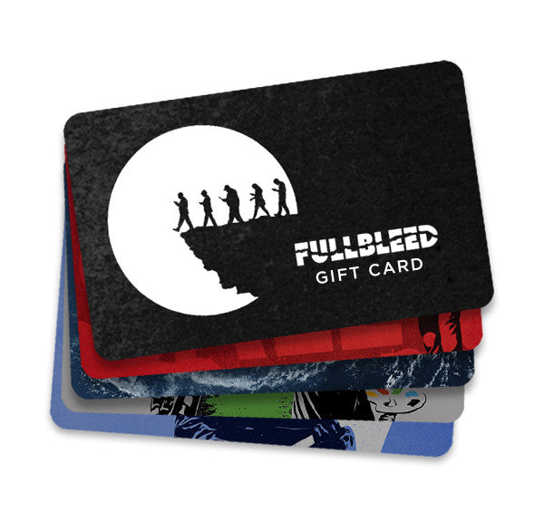 Fullbleed Gift Card