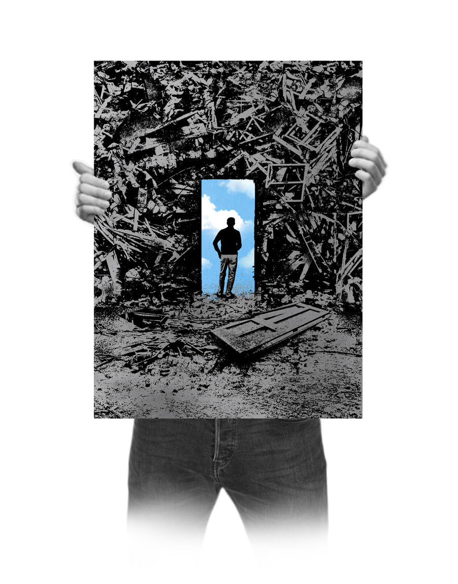 Fullbleed 'The Optimist' Print