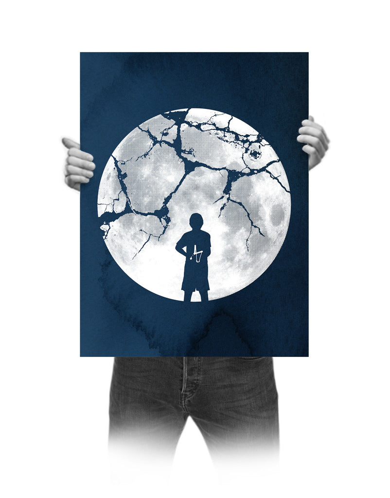 'Shoot For The Moon' Print