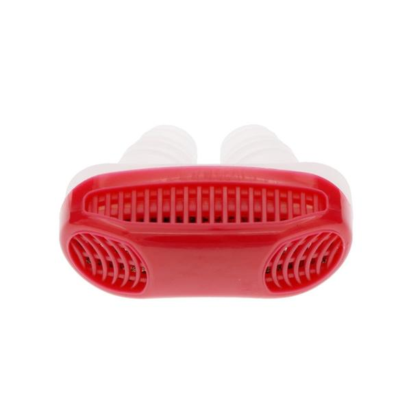 Anti-Snore Micro CPAP (RED) - Snoring Device