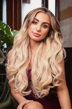 "20"" Five Piece Curly Clip In Hair Extensions - prettydollpalace"