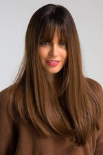 Hannah Brown Full Head Wig with Full Fringe