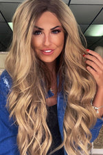 Lottie Blonde Wavy Lace Front Wig
