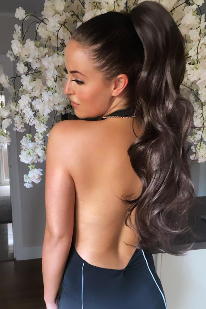 "Jasmine 23"" Clip In Ponytail - Pretty Doll Palace"