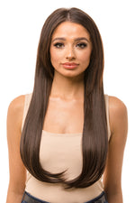 "22"" Three Piece Straight Clip In Hair Extensions"