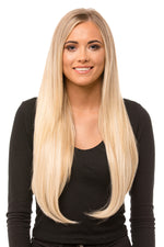 "22"" Three Piece Straight Clip In Hair Extensions - prettydollpalace"