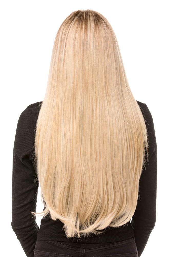 "22"" Three Piece Straight Clip In Hair Extensions - Pretty Doll Palace"