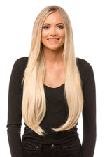 "24"" Three Piece Straight Clip In Hair Extensions - Pretty Doll Palace"