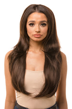 "Peaches 26"" Reversible Straight Half Head Hair Piece"