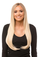 "24"" One Piece Straight Clip In Hair Extensions"