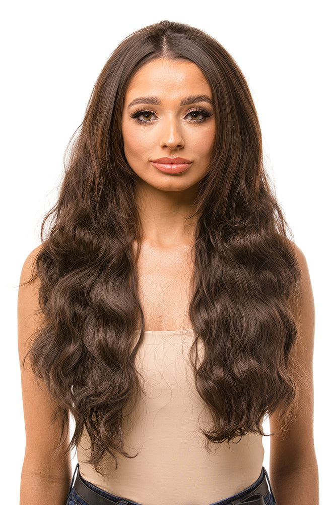 "Harper 26"" Beach Wave Half Head Hair Piece"