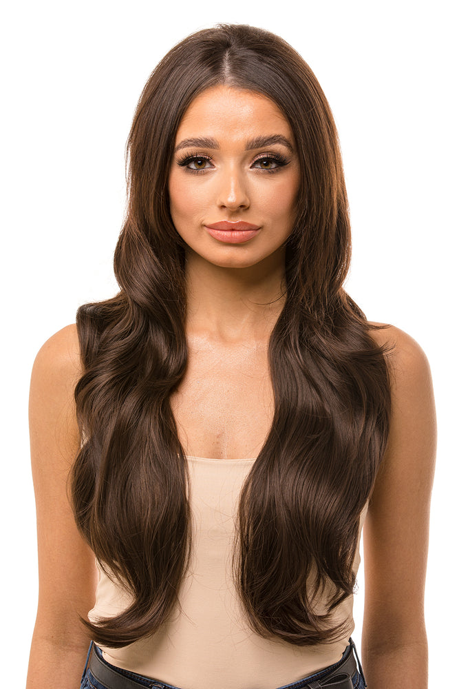 "Ascot 28"" Wavy Half Head Hair Piece"