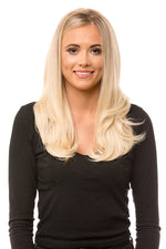 "Eden 18"" Wavy Half Head Hair Piece"