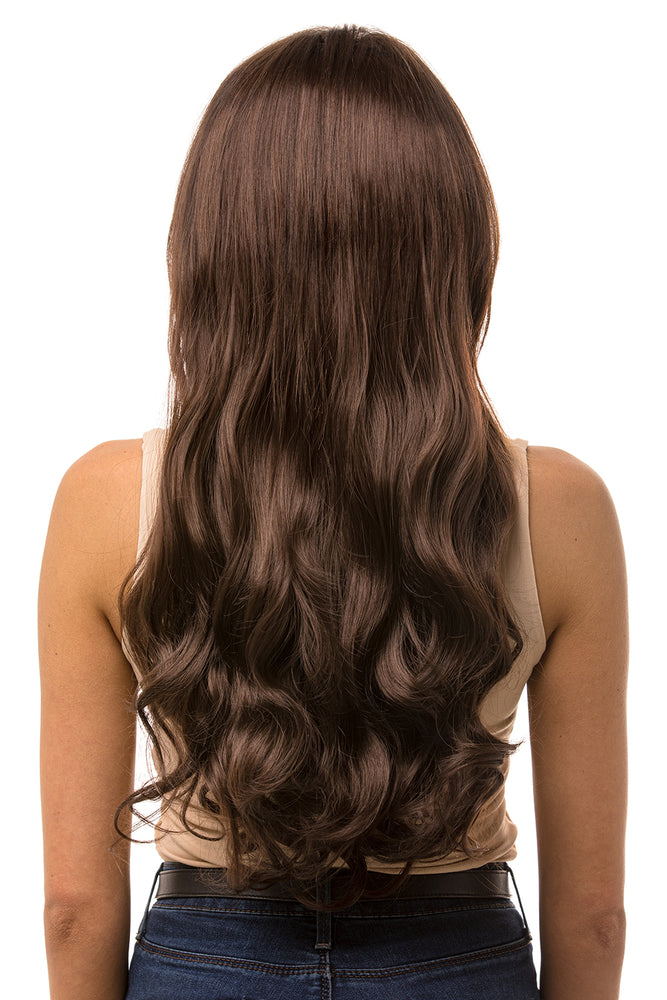 "22"" Three Piece Curly Clip In Hair Extensions - prettydollpalace"