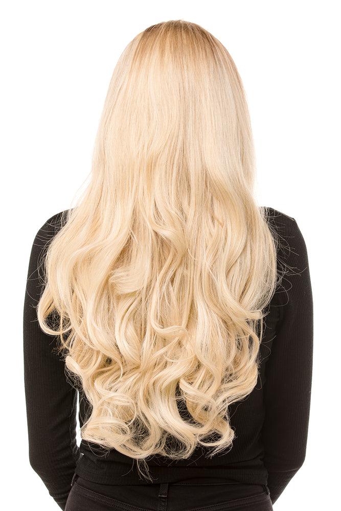 "22"" Three Piece Curly Clip In Hair Extensions - Pretty Doll Palace"