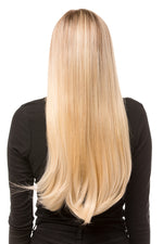 "24"" One Piece Straight Clip In Hair Extensions - prettydollpalace"