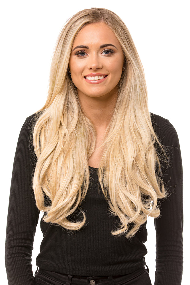 "20"" Five Piece Curly Clip In Hair Extensions"