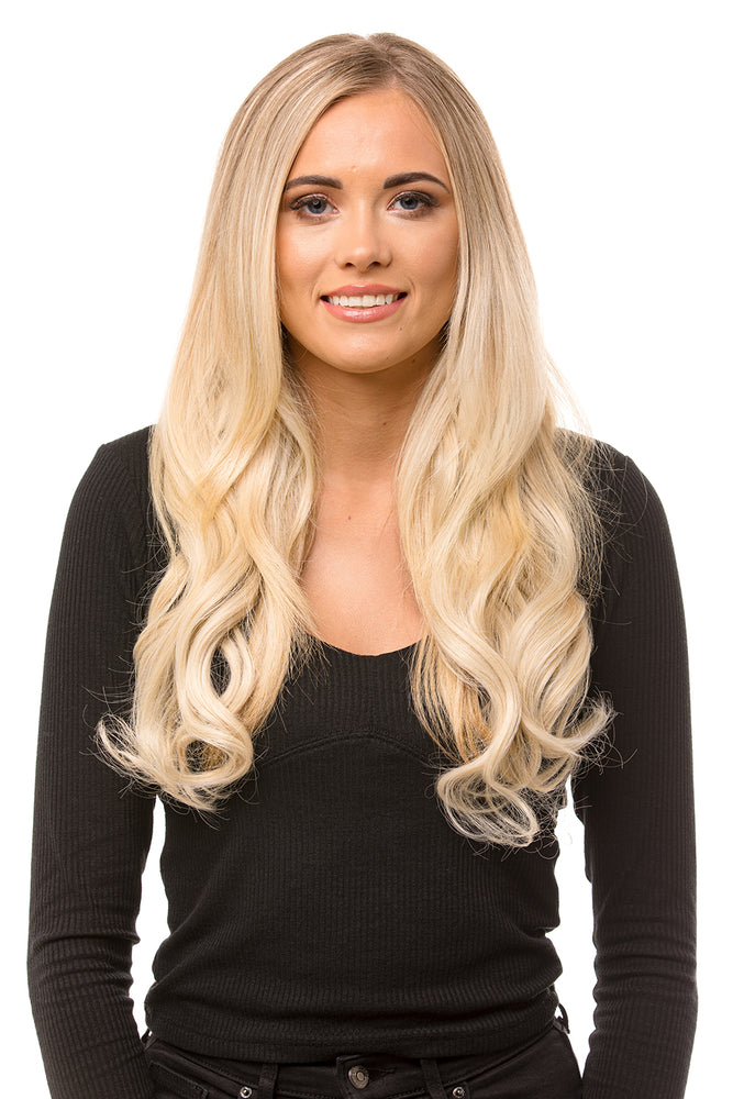 "20"" Three Piece Curly Clip In Hair Extensions"