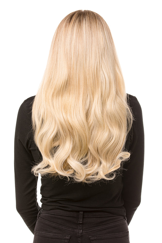 "20"" Three Piece Curly Clip In Hair Extensions - prettydollpalace"