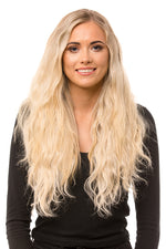 "20"" Three Piece Beach Wave Clip In Hair Extensions"