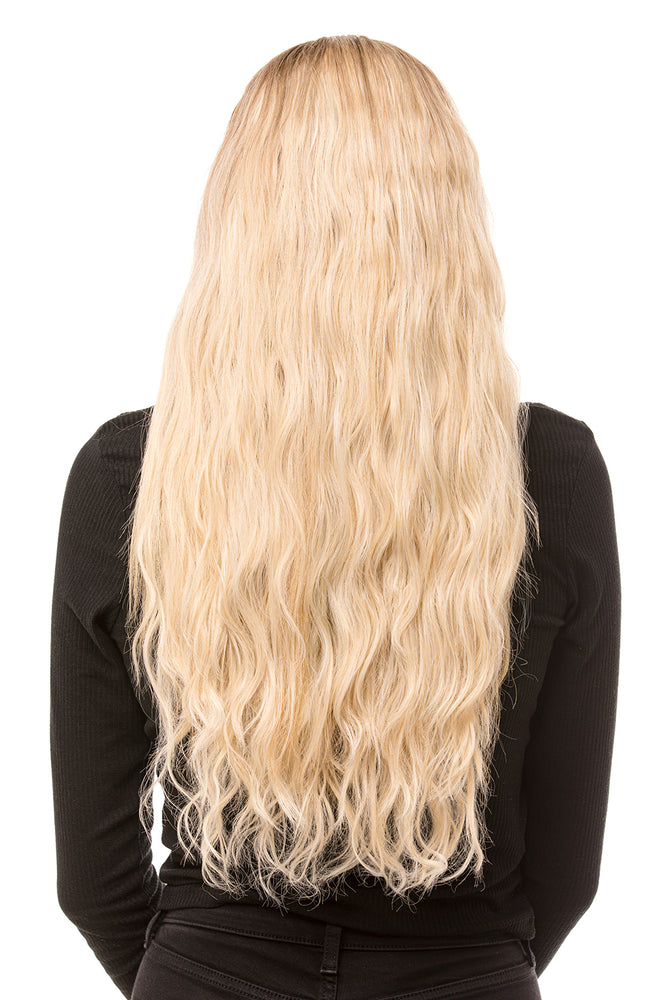 "20"" Three Piece Beach Wave Clip In Hair Extensions - Pretty Doll Palace"