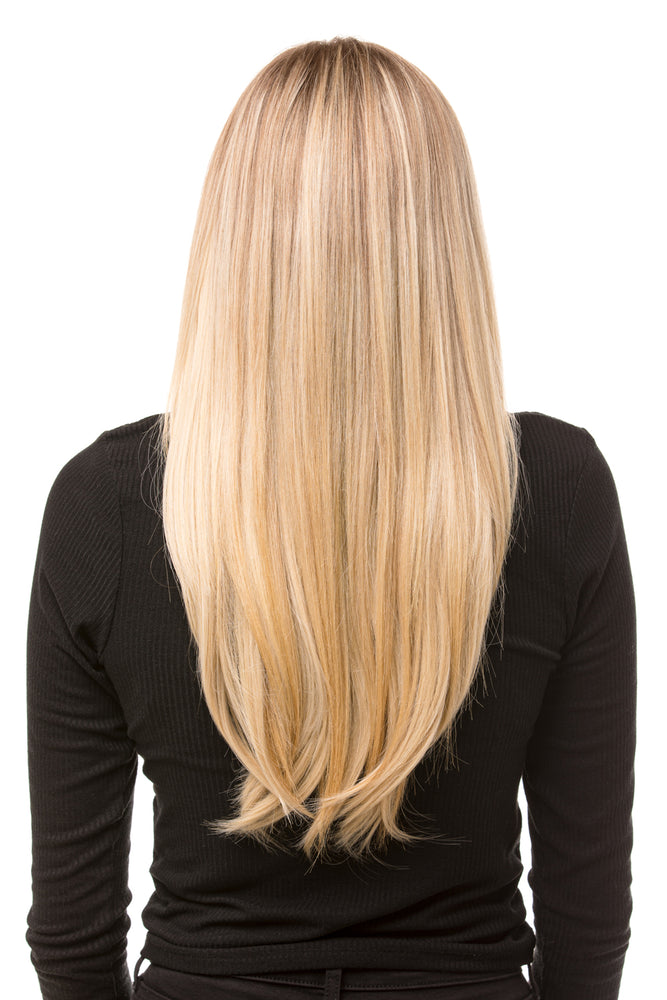 "18"" One Piece Straight Clip In Hair Extensions - Pretty Doll Palace"