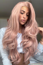 Trinity Pink Lace Front Wig