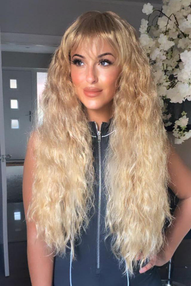 Tyra Ombre Long Crimped Full Head Wig
