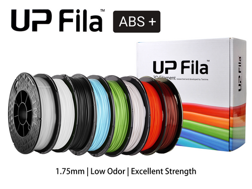UP Fila ABS+ 1.75mm - 2 x 500g - JaQuba 3D