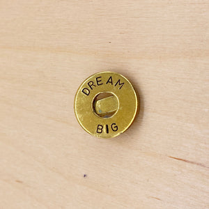Custom Brass Ring Clip