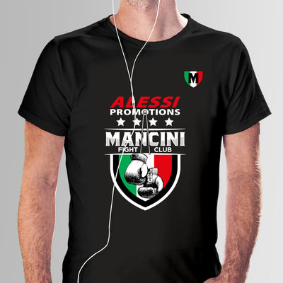 T-Shirt Cotton Mancini Black