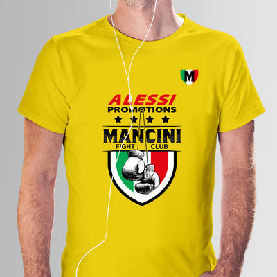 T-Shirt Cotton Mancini Yellow
