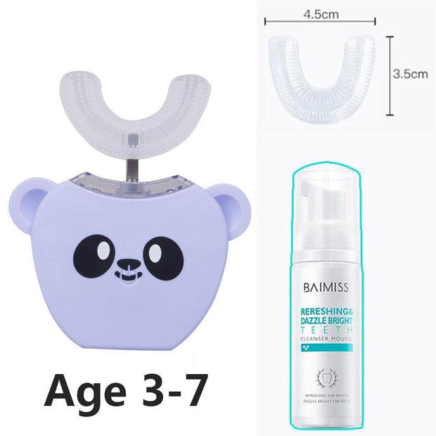 【Last Day 50% Promotion】Hands-Free Ultrasonic Automatic Toothbrush