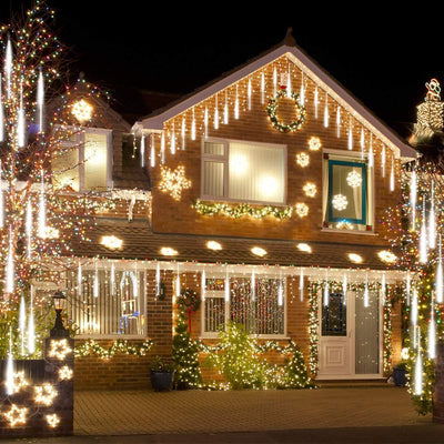 Only Today $4.98!!!Snow Fall LED Lights