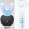 【New year Sale Up to 50% OFF- Upgraded】Hands-Free Ultrasonic Automatic Toothbrush