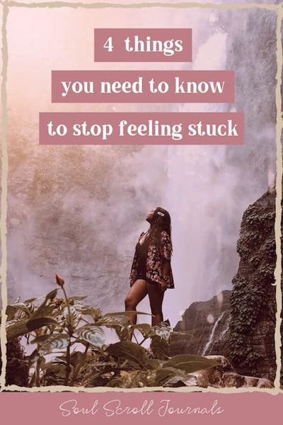 What feeling stuck actually means