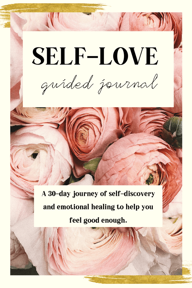 self love guided journal prompts self worth depression anxiety confidence