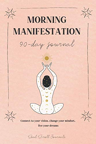 Morning manifestation 90-day journal PRINT