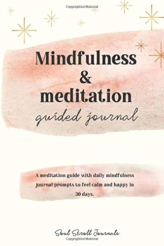 Mindfulness & meditation guided journal PRINT