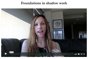 how to do shadow work video workshop