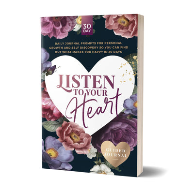 Listen to Your Heart guided journal PRINT