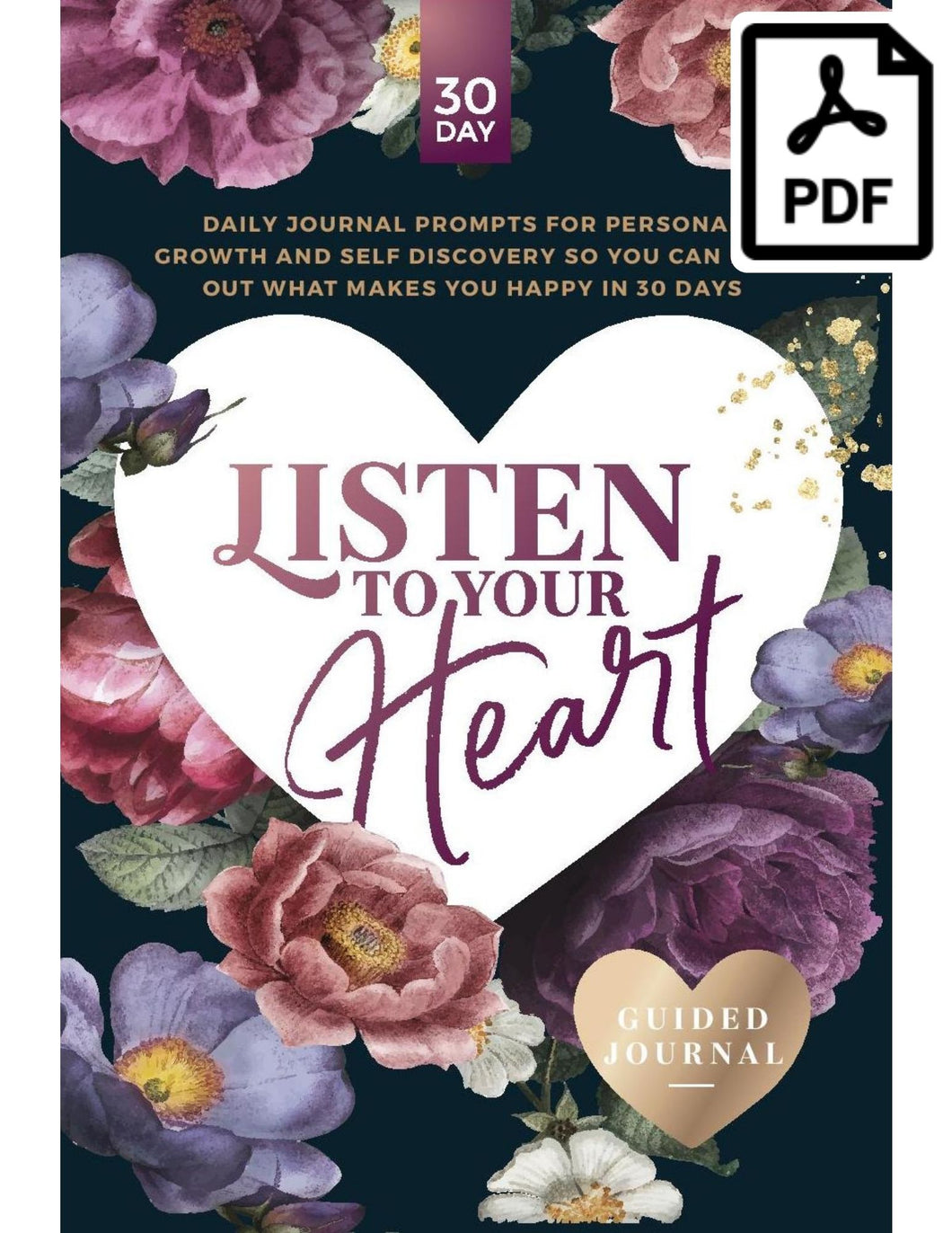 listen to your heart guided journal