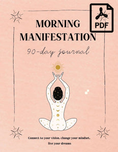 morning manifestation journal guided